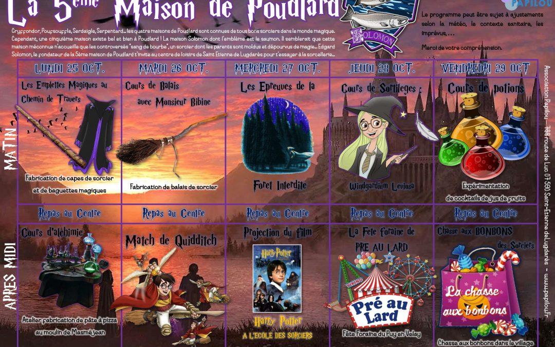 Vacances de la Toussaint : Le programme !